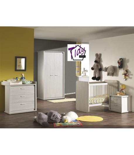 Chambre b b nina tidy home - Destockage chambre bebe ...