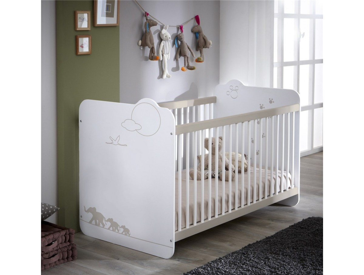 Lit b b moogly tidy home - Destockage lit enfant ...