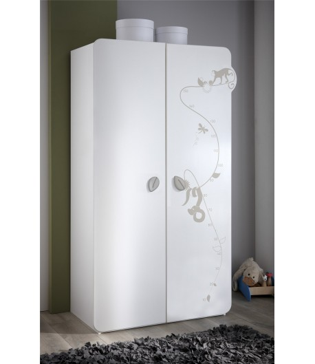 Armoire 2 portes Moogly - TIDY HOME