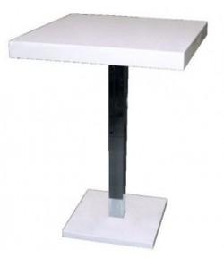 Table haute laqué 2 personnes