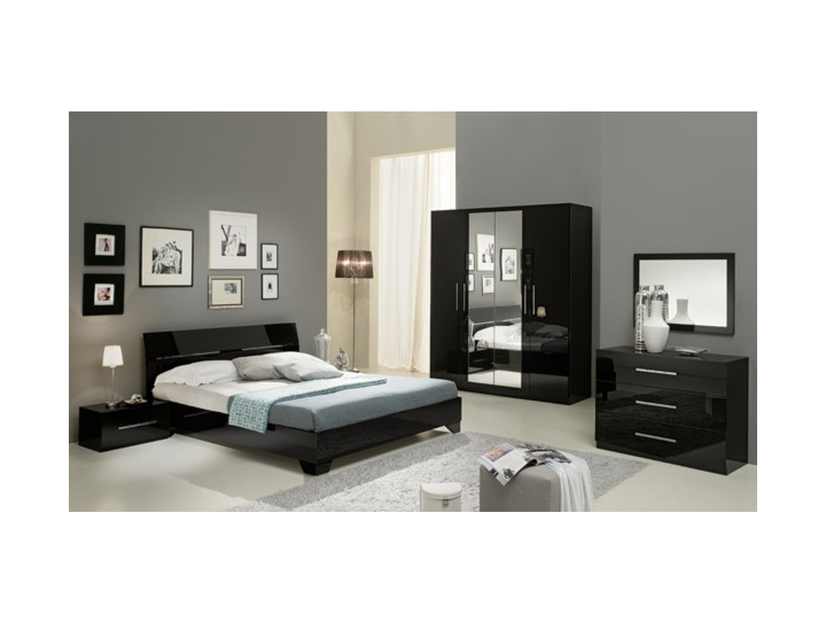 chambre gladice laque tidy home. Black Bedroom Furniture Sets. Home Design Ideas