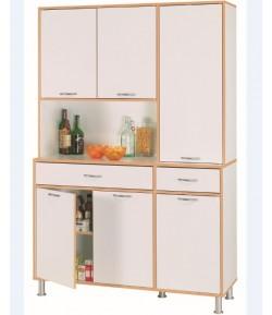 Buffet 6 portes 1 tiroir palma tidy home - Organiseur de tiroir cuisine ...