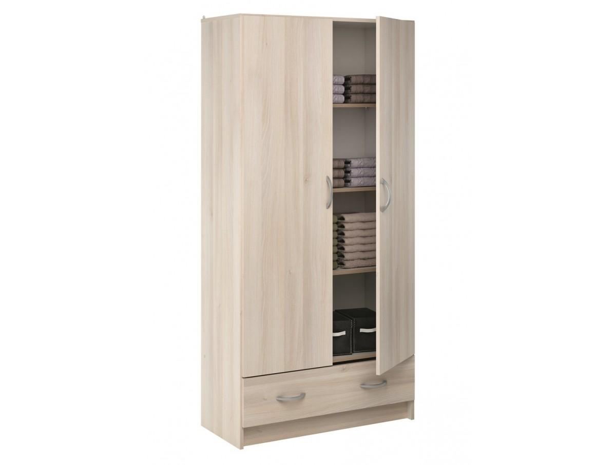 Armoire 3 portes conforama elegant wonderful armoire for Meuble porte coulissante conforama