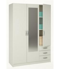 Armoire 3 portes + 3 tiroirs LOLITA