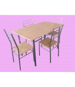 Ensemble Table + 4 chaises brandon