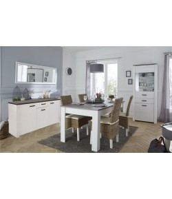 Séjour Valentin Buffet+Table + 4 chaises