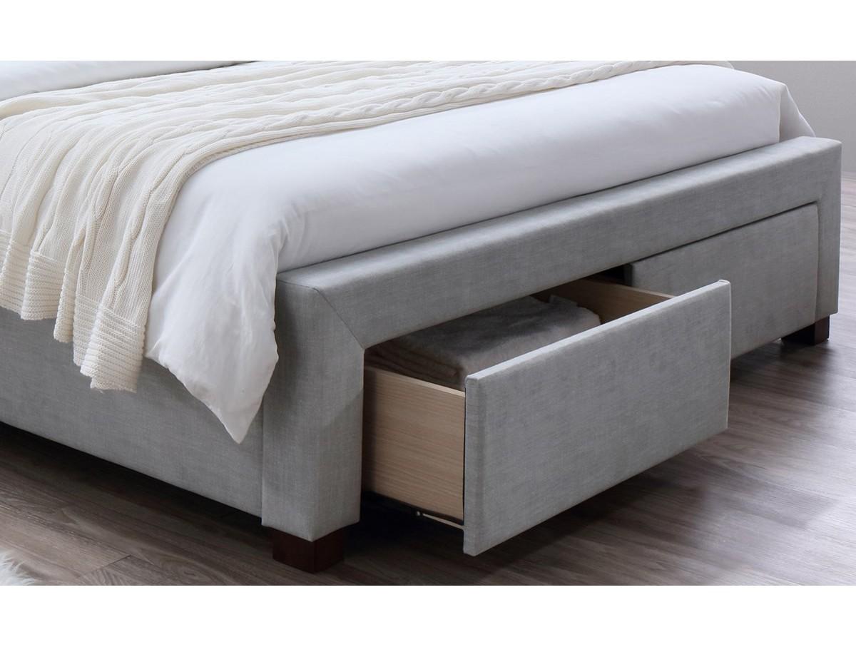 Lit avec tiroir ol ron 140x200 tidy home for Canape avec lit tiroir