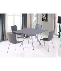Ensemble table carrée + 4 chaises Texas