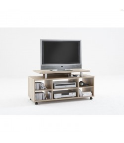 meuble tv laqu blanc daryl tidy home. Black Bedroom Furniture Sets. Home Design Ideas
