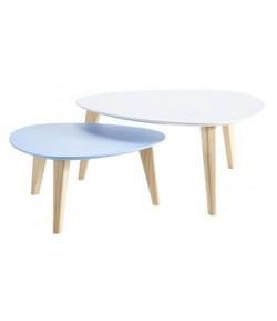 "TABLES BASSES ""STONE"" SET 2"