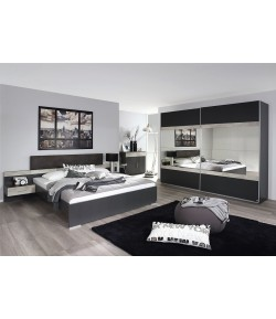 Chambre Spencer grise anthracite