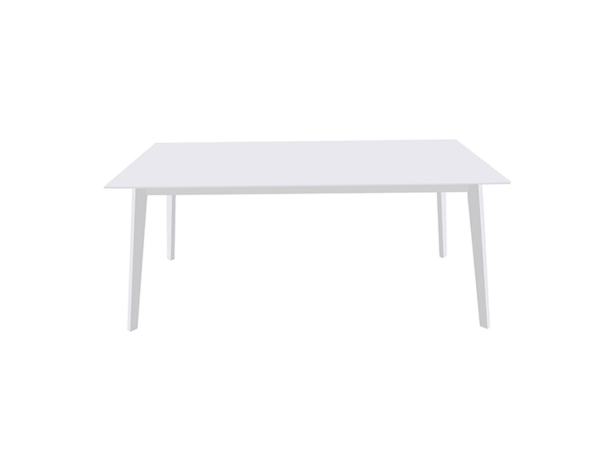 Table 170cm scandi blanche tidy home for Table tv blanche