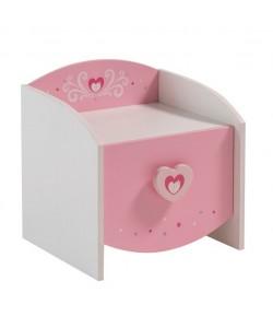 Chevet 1 tiroir Princesse