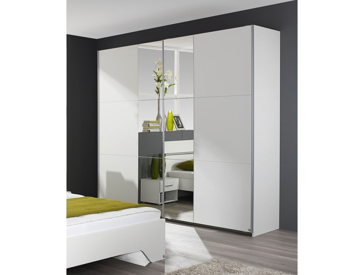 Armoire 2 portes coulissantes fellini - TIDY HOME