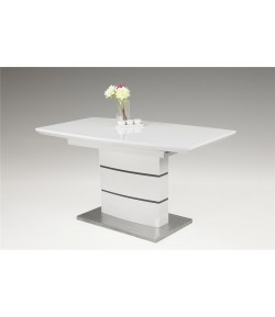 Table extensible pied central Clarisse