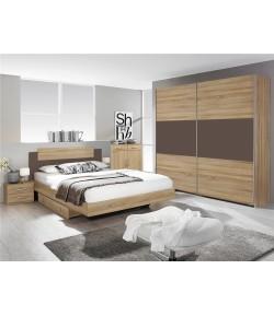Chambre BERTILLE avec lit 140cm