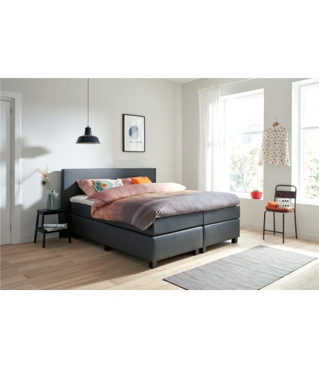ensemble literie boxspring tidy home. Black Bedroom Furniture Sets. Home Design Ideas