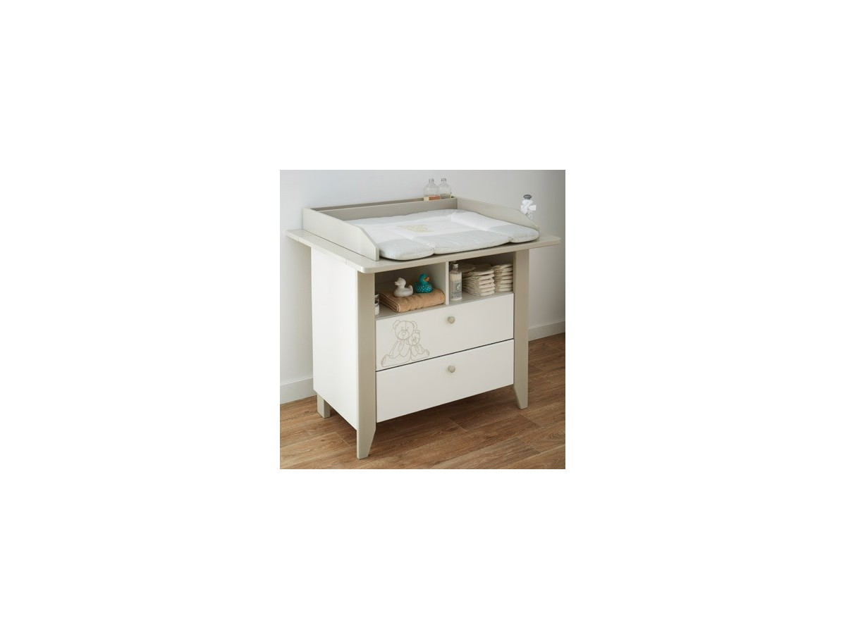Commode teddy a langer grand mod le tidy home for Table a langer adaptable sur commode
