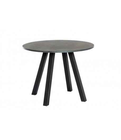 Table haute ronde 4 pieds venize