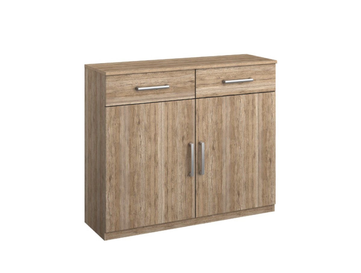 commode bambou 2 portes 2 tiroirs tidy home