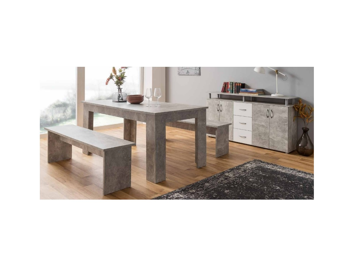 Salle A Manger Etretat Buffet Table Extensible Tidy Home