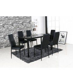 Ensemble table + 6 chaises Labo