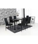 table + 4 chaises Labo
