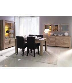 Séjour FENIX : Buffet+Table de séjour+4 chaises