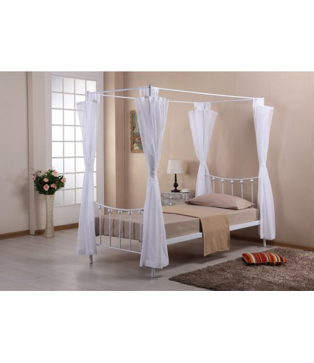 lit une personne arlequin blanc tidy home. Black Bedroom Furniture Sets. Home Design Ideas
