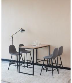 Table haute + 4 tabourets NANTES