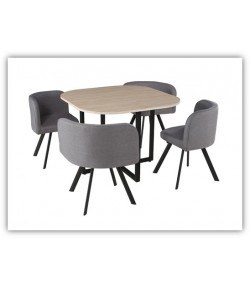 Table + 4 chaises bayonne