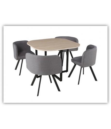 Table haute + 4 tabourets Lyon