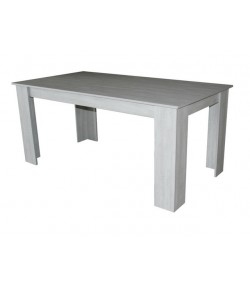 Table rectangulaire johan chêne gris