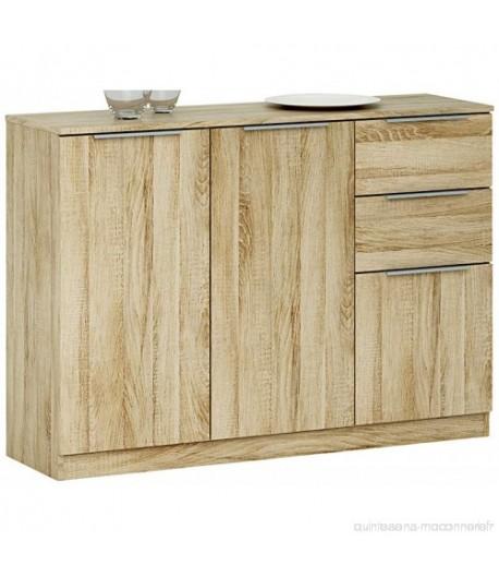 Rangement3 portes 2 tiroirs chest