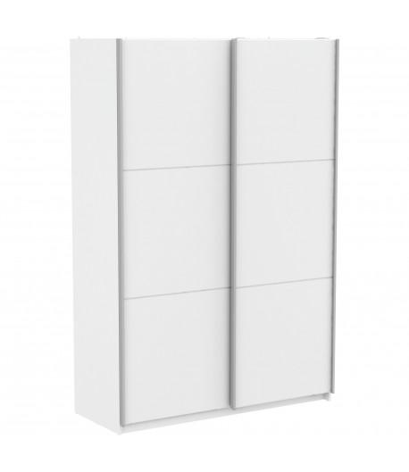 Armoire alabama blanche 150 cm