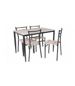 Table + 4 chaises zara