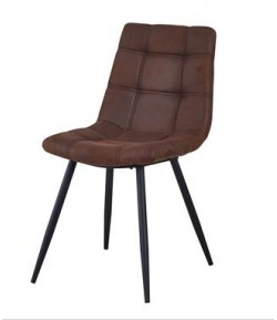 Chaise marron Emerode