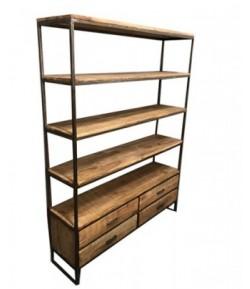 étagère indus 4 tiroirs