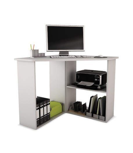 bureau multimedia d 39 angle parys tidy home. Black Bedroom Furniture Sets. Home Design Ideas