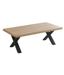 Table basse pied X