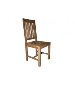 Chaise indus bois