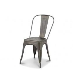 Chaise indus tout métal