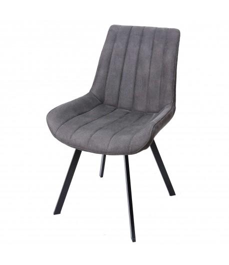 Chaise vintage grise