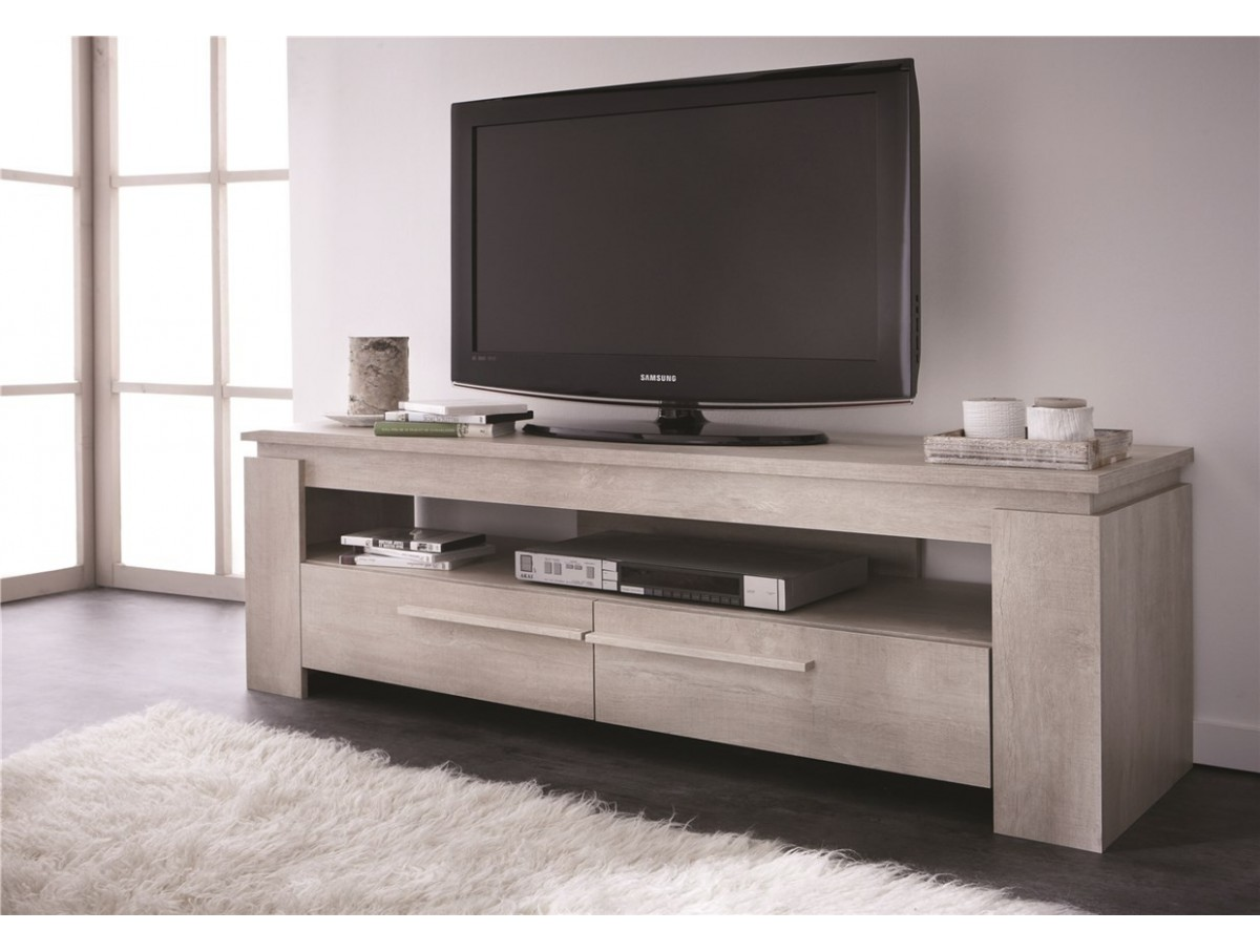 Meubles Tv Tidy Home # Meuble Tv Noir Blanc