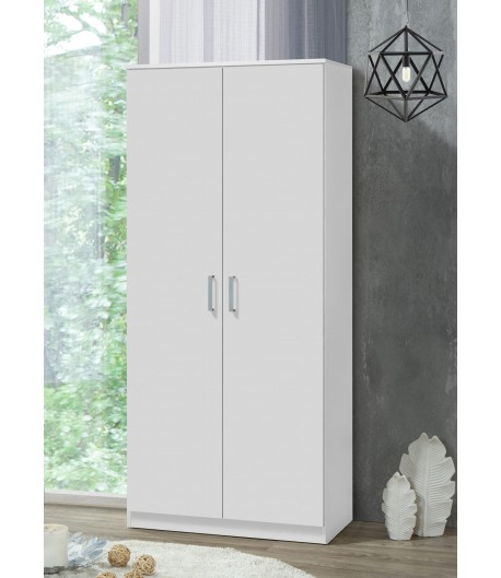 Armoire 2 portes blanche