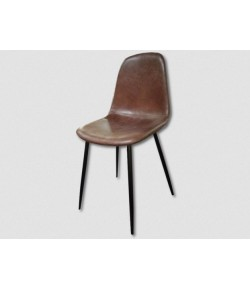 chaise Karine indus marron
