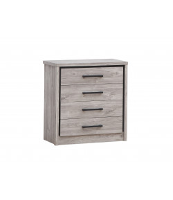 Commode Eliot grise