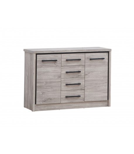Commode grand modele Eliot grise