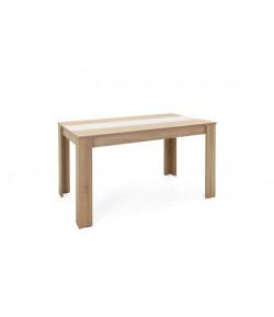 Table de séjour Nicole 140 cm chene/blanc