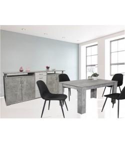 Salle a manger ETRETAT Buffet + Table extensible 140/180cm